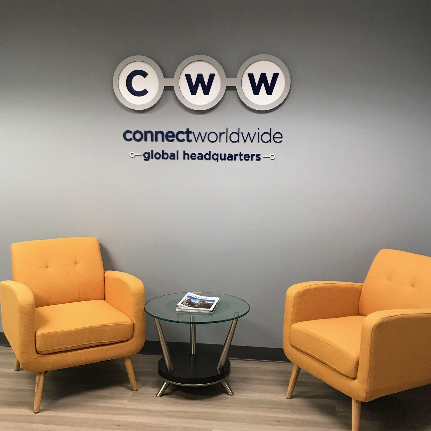 connect worldwide headquarters lobby