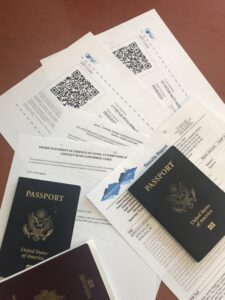 covid 19 pandemic travel document requirements
